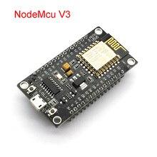 Módulo sem fio nodemcu v3 lua wifi internet das coisas placa de desenvolvimento esp8266 com antena pcb e porta usb ESP 12E ch340