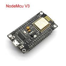 Moduł bezprzewodowy NodeMcu V3 Lua WIFI Internet rzeczy rozwój pokładzie ESP8266 z antena Pcb i Port Usb ESP 12E CH340