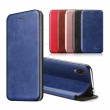 """สำหรับ Samsung A02หนังกรณีแม่เหล็กพลิกสำหรับ Samsung Galaxy A02 A 02 6.5 """"SM A022F กระเป๋าสตางค์หนังสือโทรศัพท์ Cover Fundas"""