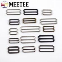 Meetee id6mm 51mm 30 шт металлические 8 образные тройные скользящие