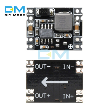 DC-DC Power Supply Module Step Down 3A output 24V/12V to 5V 3.3V Buck Converter For Arduino Board Ultra-Small Size Mini image