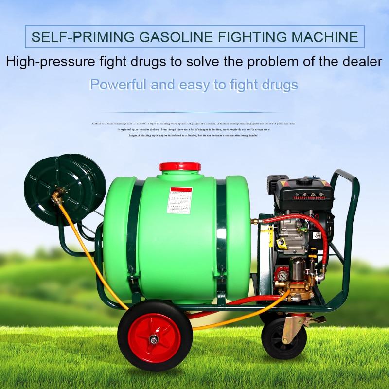 Trolley Type Push-type Spray Machine 160 Liters 300 Liters Agricultural Gasoline Power Sprayer Spray Truck