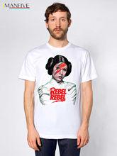 Princess Leia Rebel Rebel Tshirt David Bowie Star Wars Carrie Fisher Free shipping  Harajuku Tops   Classic Unique T Shirt свитшот print bar leia bowie