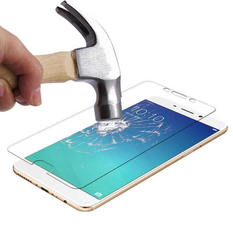 9H twardość szkło ochronne do OPPO F7 A57 A79 ochraniacz ekranu na OPPO F3 R7S R7 R9S R9 Plus przezroczyste szkło hartowane
