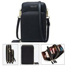 Сумка через плечо для мобильного телефона, женская сумка для мобильного телефона, модная, для повседневного использования, держатель для карт, мини летняя сумка на плечо для кошелька