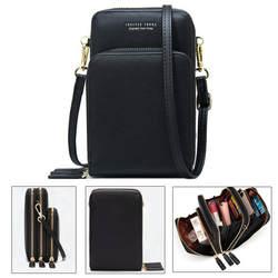 Сумка через плечо для сотового телефона, сумка для мобильного телефона, модная повседневная сумка с держателем для карт, мини летняя сумка