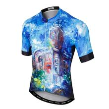 цена на Mens Cycling Jersey Bike Short Sleeve Jersey Breathable Riding MTB Bicycle Ropa Ciclismo Quick-dry Cycling Clothing