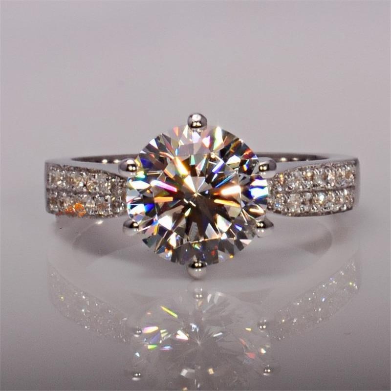 51 Styles Lab diamant promesse bague 925 en argent sterling fiançailles bague de mariage anneaux pour femmes hommes pierres précieuses fête bijoux cadeau 2
