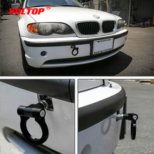 Buy Universal Racing Towing Car Tow Hook Fit For BMW E46 E81 E30 E36 E90 E91 European Car Auto Trailer Ring Car Accessories directly from merchant!
