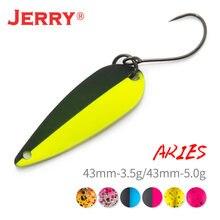 Джерри Овен Железный микро форель рыболовная ложка блесна блеск