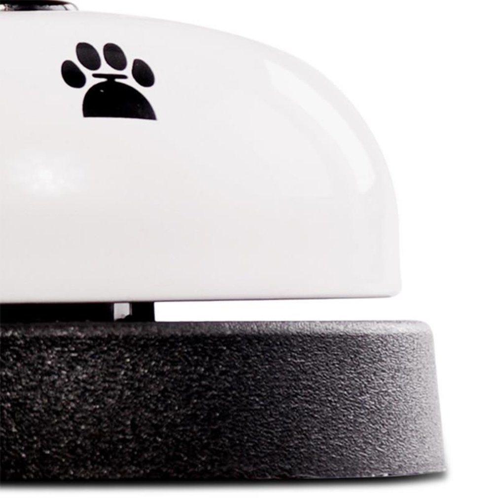 Pet Dog Training Bell Practical Training Bell Non-Skid Rubber Bottom Cute Printed Communication Device for Pet-2
