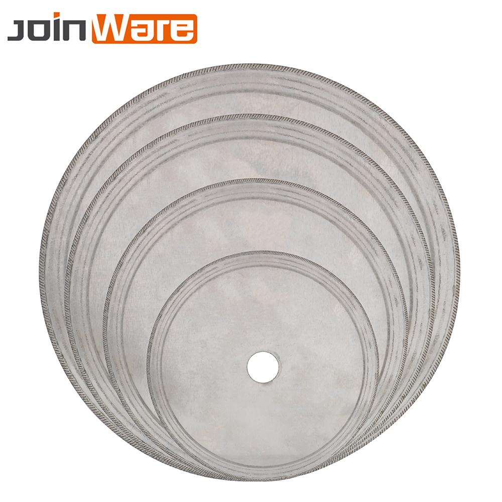 110/150/180/200MM Diamond Lapidary Saws Trim Blade Super Thin Edge Wet Cutting Disc Jewelry Tool For Stone 20m 25mm Bore