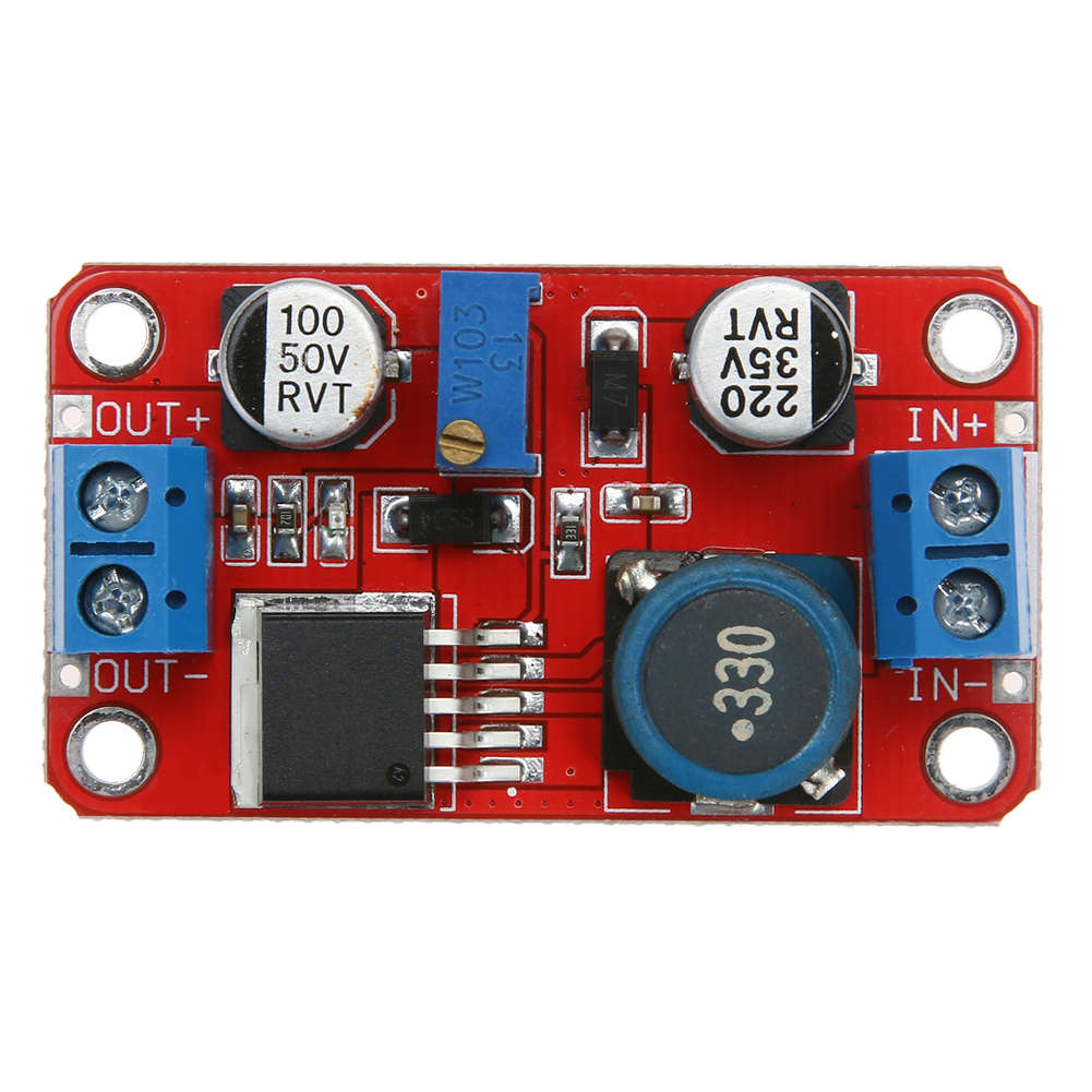 5A DC-DC Power Supply Module Boost Step-up Converter Voltage Regulator XL6019 DC Adjustable Output 3.3V-35V To 5V 6V 9V 12V 24V image