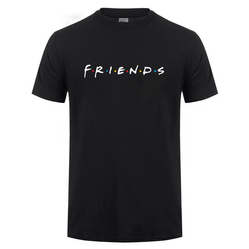 Friends Tv Show How You Doin I Will Be There For You Smelly Cat Printed T Shirt For Best Friend Men Male Funny Cotton T-Shirt image