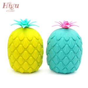 Image 5 - Hot Sale Facial Cleaning Brush Exfoliator Massage Pore Deep Cleansing Pineapple Shape Silicone Face Wash Brushes Beauty Tool
