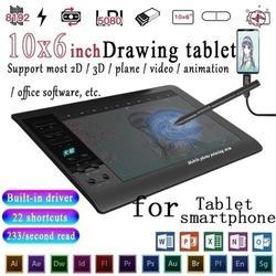 Digitale Tablet Schnelle Lesen Elektronische Zeichnung Board 10x6 Zoll Großen Bildschirm Druck Sensing Grafik, Zeichnung, Tablet