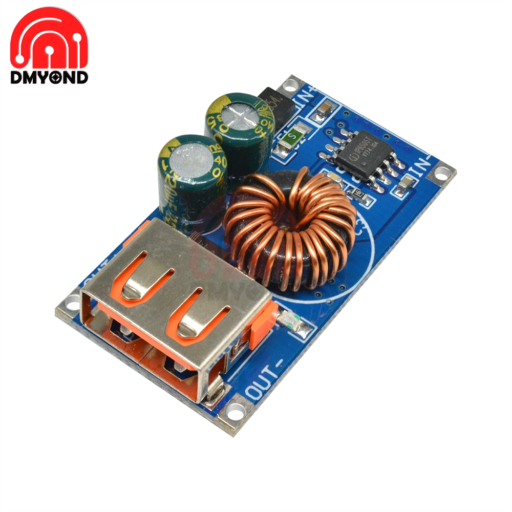 12V 24V to QC2.0 QC3.0 Mobile Phone USB DC Step Down Module Fast Charging Board For AFC Quick Charger Board