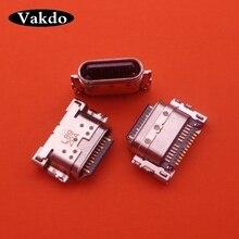1pcs סוג C USB טעינת יציאת Mini Dock מטען מחבר עבור LG Q7 Q610 חלקי תיקון החלפה
