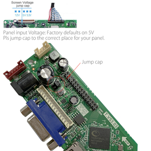 Image 5 - T.V53.03 evrensel LCD LED TV denetleyici sürücüsü kurulu TV/PC/VGA/HDMI/USB + IR + 7 anahtar düğmesi anahtarı rus değiştirin T.RD8503.03 SKR