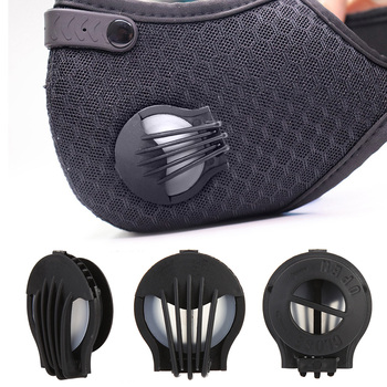 Air Pollution Mask Replaceable PM2.5 Dustproof Valve Anti-dust Sport Breathing Carbon Bike Mask Breathing Filter for adults