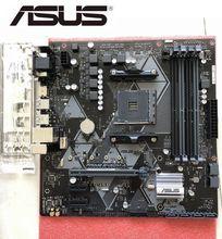 ASUS desktop motherboard PRIME B450M-A für AMD B450 AM4 DDR4 unterstützt RYZEN CPU M-ATX AURA RGB VERWENDET original VERWENDET mainboard