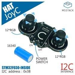 M5Stack официальный JoyC рокер модуль предназначен для M5StickC STM32F030F4 чип управления игры Ручка беспроводной джойстик