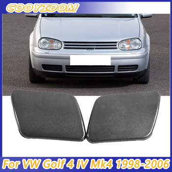 COOYIDOM Front Bumper Headlight Washer Nozzle Cover Cap For VW Golf 4 IV Mk4 1998 1999 2000 2001 2002 2003 2004 2005 2006 image