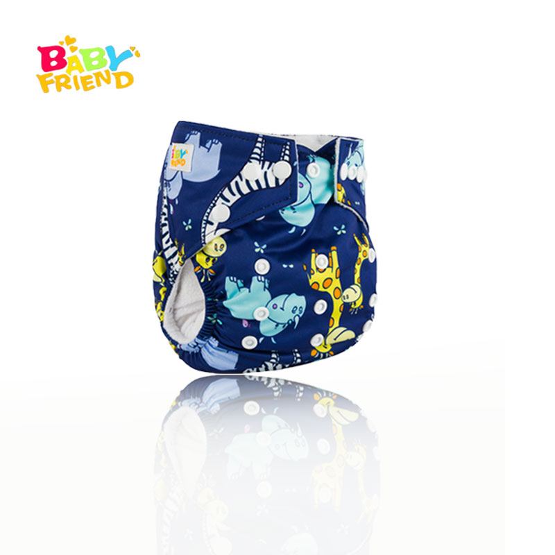Free Size 1 Baby Cloth Diaper Cover Baby Cartoon Reusable Washable Adjustable Waterproof Cloth Pocket Nappies Underwear
