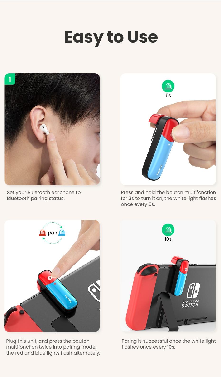BluetoothV5.0 Adaptateur