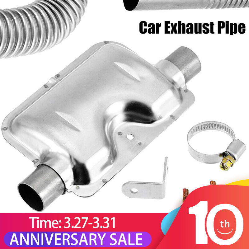 Exhaust Connector T-Shaped 3-Outlet  For Truck Boat Car Auto Air Diesel Heater