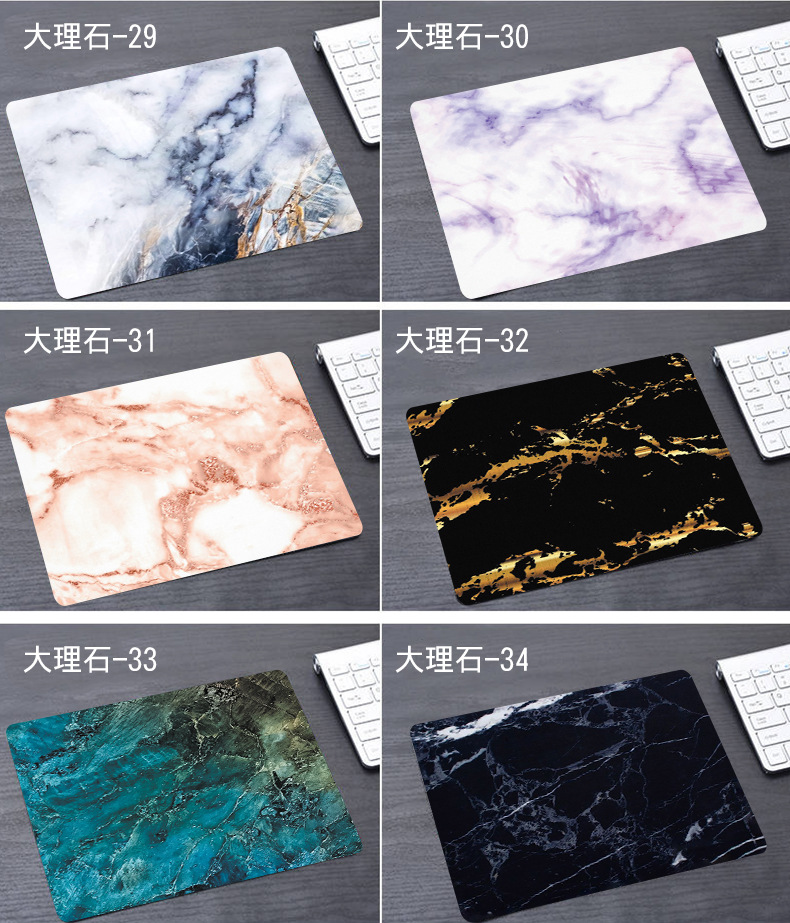 Marble Office Desk Mat Office Desk Accessories School Supplies Office Desk Organizer High Quality Office Mouse Desk Tools