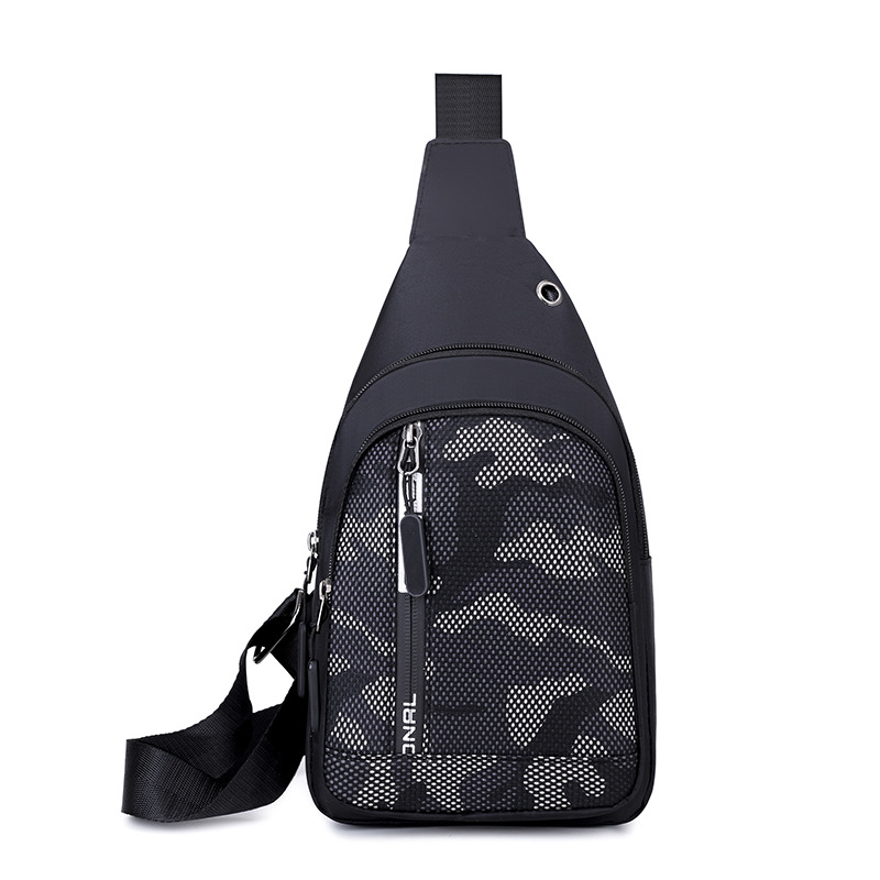 2019 Winter New Style Fashion Printed Casual Chest Pack Anti-Spillage Oxford Cloth Shoulder Bag Multi-functional Shoulder Bag