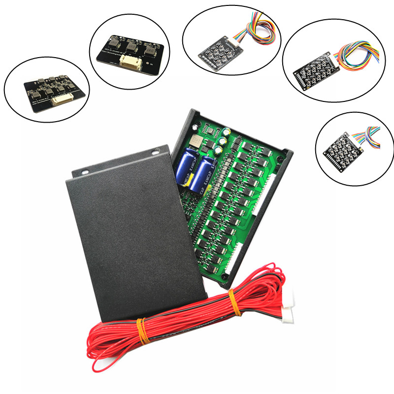 2S-24S BMS Active Balancing 1A 2A  Active Equalizer Battery Balancer Board Bluetooth Display APP  Li-ion Lipo LTO Lifepo4