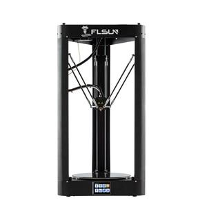 Image 3 - FLSUN QQ S PRO 3D 프린터 사전 조립 델타 Kossel 터치 스크린 Wifi 모듈 대형 인쇄 크기 255*255*360mm