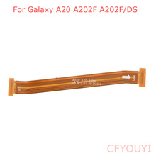 Original For Samsung Galaxy A20 A202F A202F/DS Motherboard Connection Flex