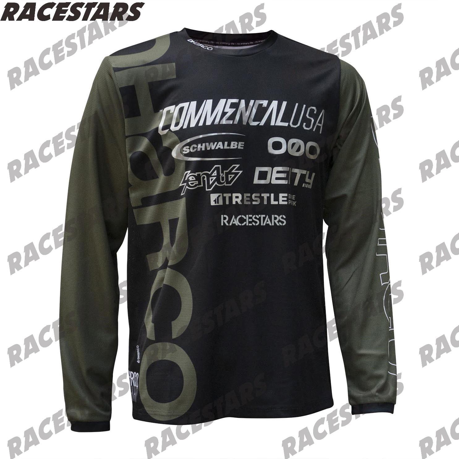 Мотокросса Велоспорт MTB майки с длинным рукавом мотоцикл горный велосипед Endura Джерси BMX футболка DH одежда Maillot Ciclismo