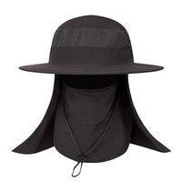 متعددة الوظائف ظلة الأشعة فوق البنفسجية حماية الوجه غطاء الرقبة قبعة صيد العملي في الهواء الطلق التخييم المشي تنفس قناع قبعة رياضية