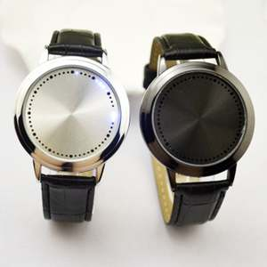 Digital Clock Watch Touch-Screen Smart Women LED Student -1 Couple Simple