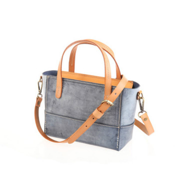 Genuine Leather Women Bag 2020 new  hand-held messenger bag cowhide leather women candy color bag Fashional Women Tote