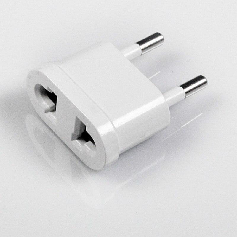 2 pçs/lote 3 tipo WN-20 eua (eua) para a ue (europa) 250v ac 10a 1000w adaptador de tomada de alimentação de viagem para eua conversor branco