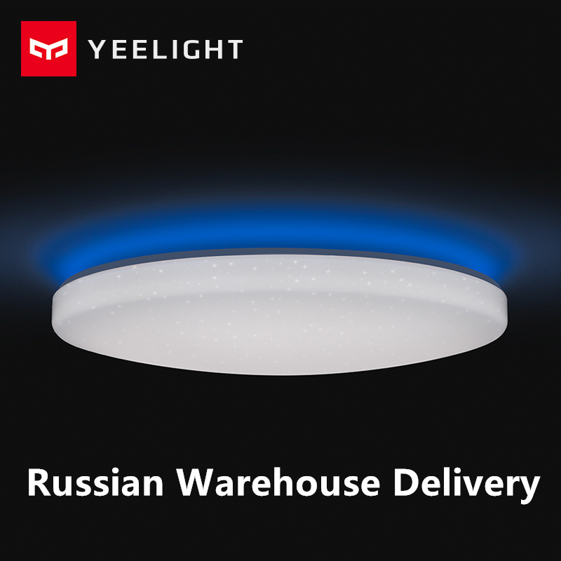 Yeelight Ceiling Light 450/480/650mm APP WIFI Bluetooth Control Smart LED Color IP60 Dustproof Ceiling Lamp From Xiaomiyoupin