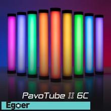 Nanlite PavoTube II 6C LED Tube lumineux rvb Portable poche photographie éclairage bâton CCT Mode Photos vidéo lumière douce