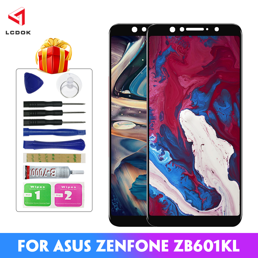 100% Tested <font><b>LCD</b></font> For Asus Zenfone Max Pro (M1) ZB601KL <font><b>ZB602KL</b></font> <font><b>LCD</b></font> Display Touch Screen Digitizer Assembly Panel Replacement <font><b>LCD</b></font> image