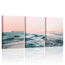 Настенная картина с принтом океана настенное искусство фон для