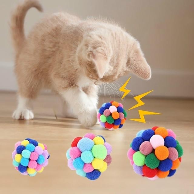 Plush Soft Funny Kitten Toy 1