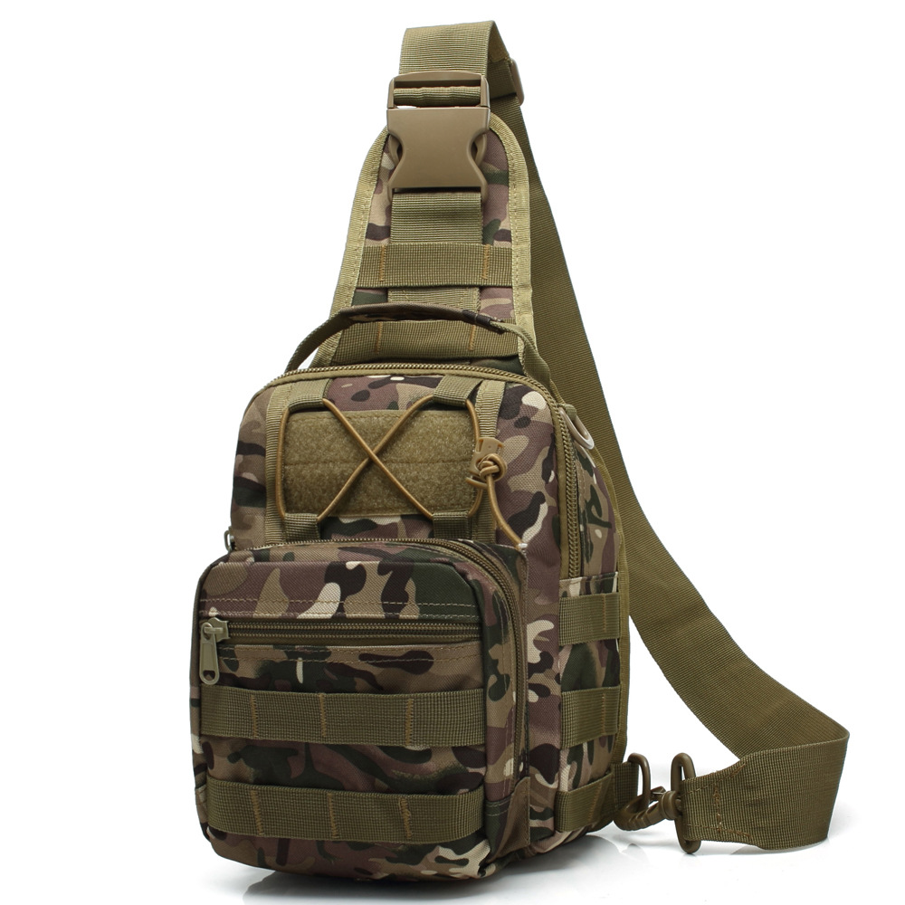 Outdoor Men Chest Bag Military Sling Shoulder Sport Bag Tactical Bagpack Crossbody Bags For Climbing Hiking|Climbing Bags| |  - title=