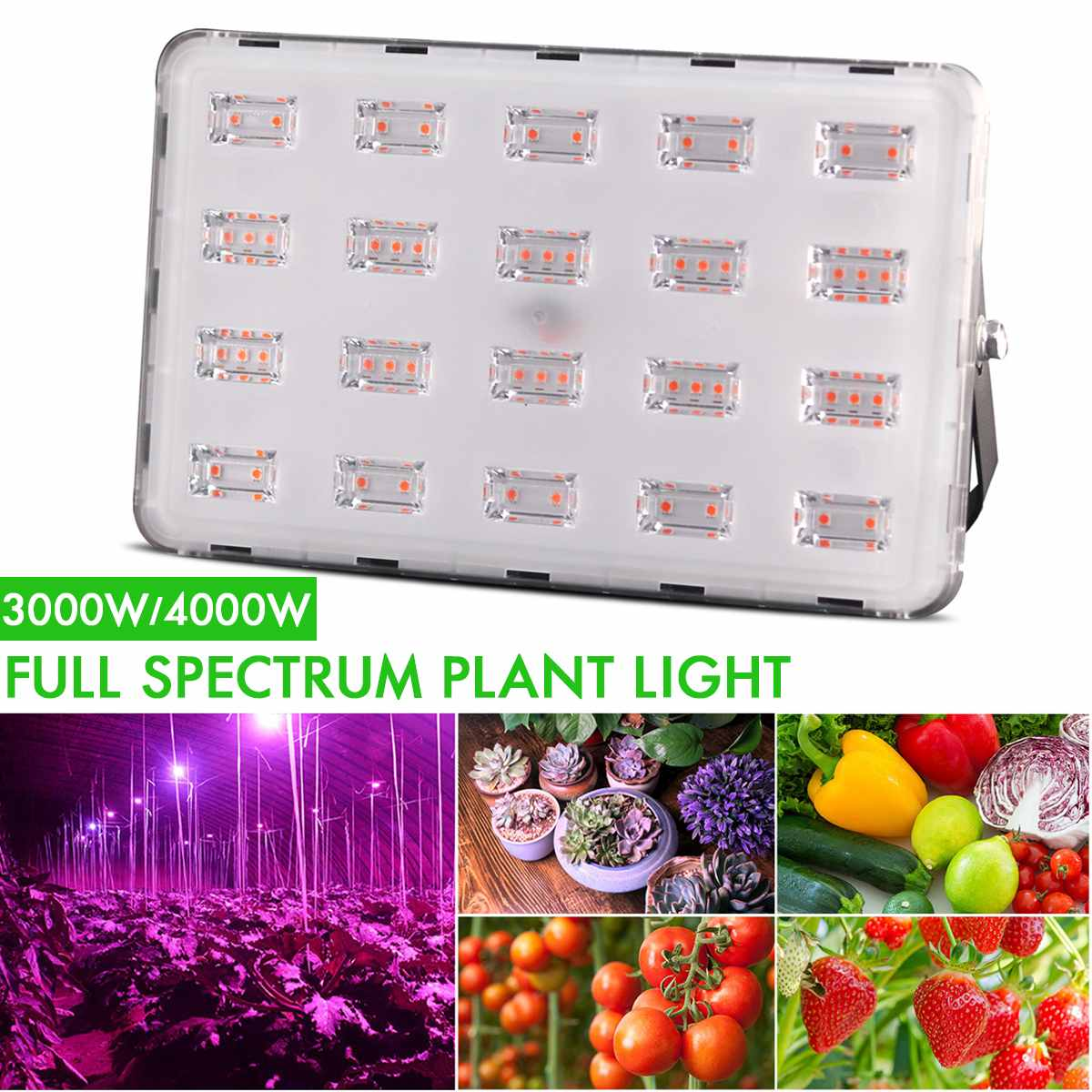 <font><b>3000w</b></font>/4000W <font><b>LED</b></font> <font><b>grow</b></font> <font><b>Light</b></font> Phyto Lamps Full Spectrum <font><b>Grow</b></font> lamps For indoor seedling tent Greenhouse flower fitolamp plant lamp image