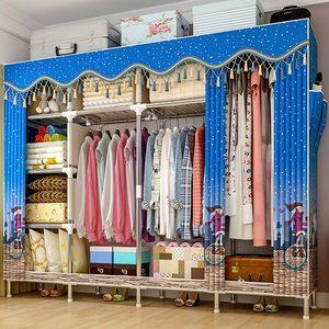 Image 4 - GIANTEX Panno Armadio Per i vestiti In Tessuto Portatile Pieghevole Armadio di Stoccaggio Armadio Camera Da Letto Mobili Per La Casa