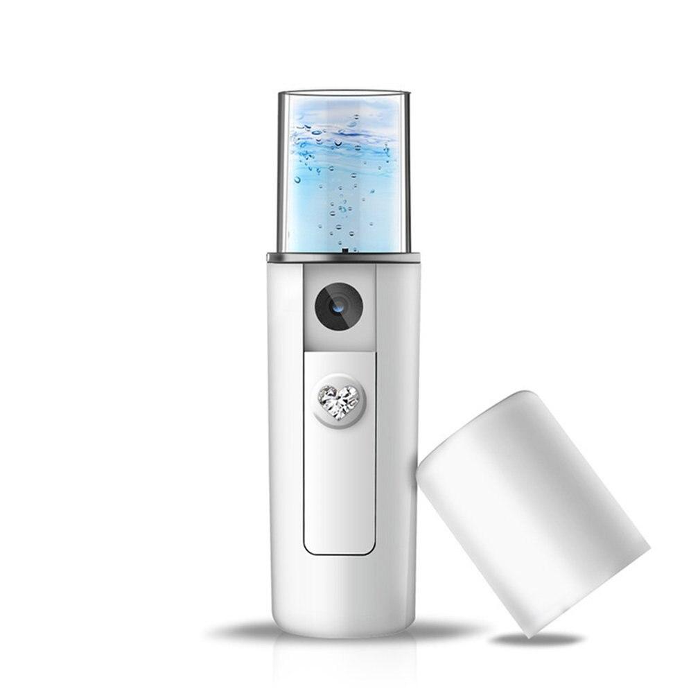 أداة الجمال المحمولة للترطيب في الوجه الأكثر مبيعًا في عام 2019 مزودة بمنفذ USB للشحن ورش النانو ضباب يدوي أداة الجمال