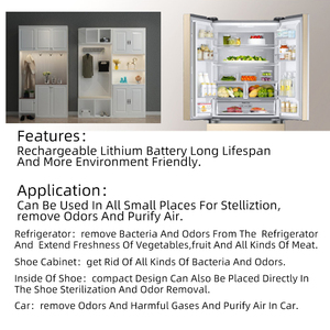 Image 5 - مولد أوزون صغير مزيل الروائح لتنقية الهواء USB قابلة للشحن الثلاجة لتنقية الهواء المحمولة مساحة صغيرة رائحة واضحة